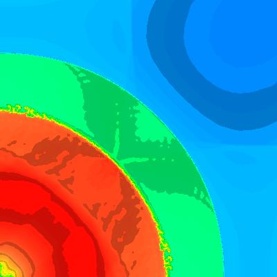 density, t = 3.2