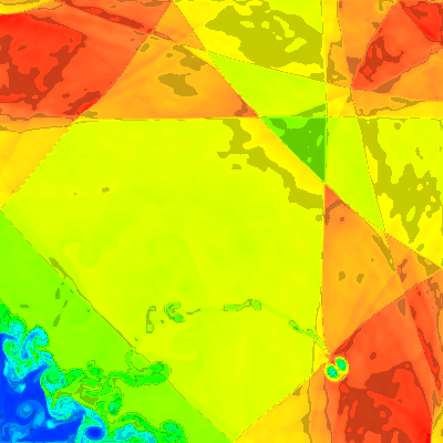 1a. Standard sweeps, x start, density