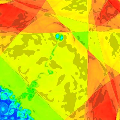 3. Symmetric sweeps, 1% asymmetric initially, density