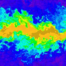 256 x 256 cells - density, t=10