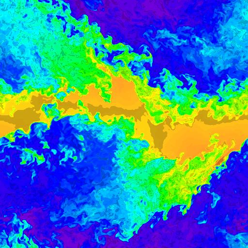 512 x 512 cells - density, t=10