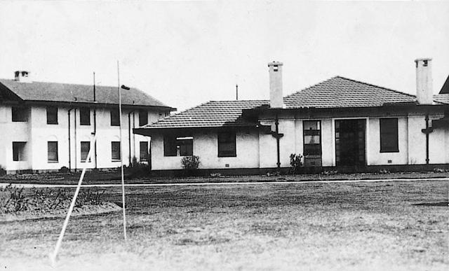 Pavilion of the Hotel Canberra, where the observatory began operation in 1924