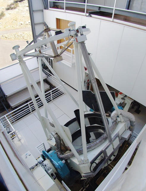 Siding Spring Observatory 2.3 m (from above)