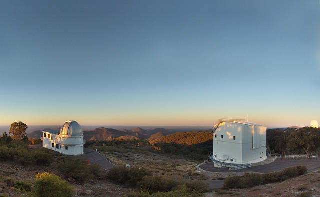 ANU telescopes at Siding Spring Observatory