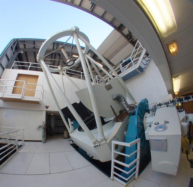 Siding Spring Observatory's 2.3 m telescope (internal)
