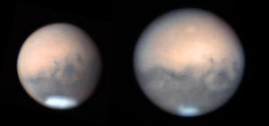 Mars through the 40-inch