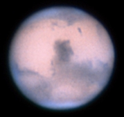 Mars viewed with ANU's 24-inch (60cm) telescope