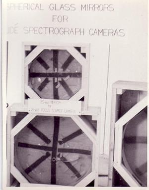 Coude spectrograph, 1957