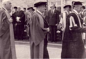 1958: Academic procession at ANU