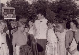 Children of the Mt. Stromlo families (1958) went to Canberra schools by daily school-bus ride down the mountain