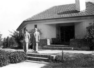 Walter Stibbs and Cla Allen, House 8 in the early 1950s