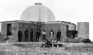 The newly-constructed Oddie Dome, 1911