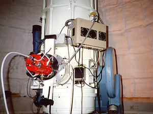 CCD camera used for support of RSAA MACHO, SN and exoplanet programs in the 1980s and 90s