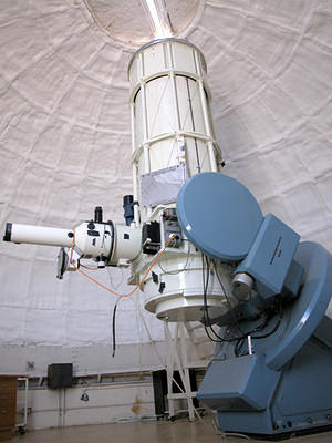 Reynolds, fitted with image-tube spectrograph, Nov 2002