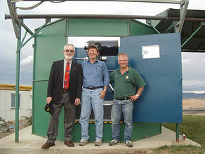 Opening of Canberra Astronomical Soc's new telescope.11-Dec-2004