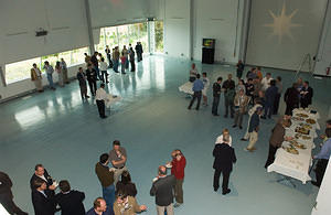Guests in the Integration Hall