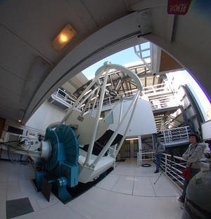 Siding Spring Observatory's 2.3 m telescope