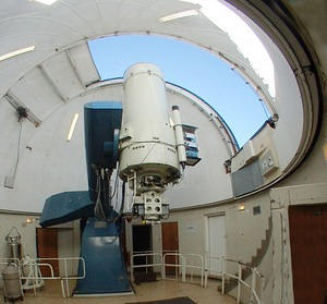 Siding Spring Observatory's 40 inch telescope (inside)